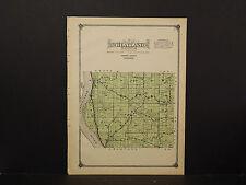 Wisconsin, Vernon County Map, 1915 Wheatland Township O2#37