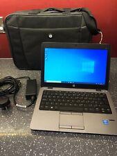"HP Elitebook 820 G1 i5-4200U 1.60Ghz 8GB 180GB 12.5"" computadora portátil Win10"