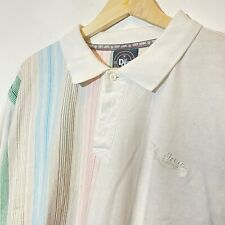 Vintage Def Jam Clothing Polo Shirt Pastel Easter Size XL Y2K Oversized Baggy