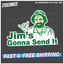 JIMS GONNA SEND IT Sticker Decal YTB Send It Drift JDM 4x4 4WD Car Ute