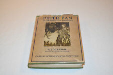 PETER PAN IN KENSINGTON GARDENS JM Barrie HDCJ EARLY EDITION 1927 ARTHUR RACKHAM