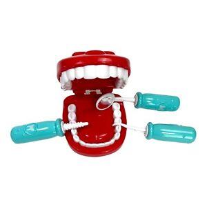 Kids dentist kit Teeth with 3 Dental Tools