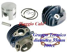 CILINDRO VESPA 50 PK XL DIAM 55mm 100cc COMPLETO DI TESTA