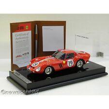 FERRARI 250 GTO 24 HOURS OF LE MANS 1962 AMALGAM MODEL 1/18 #M5903