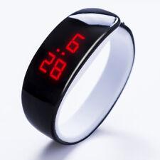 9 Color Men Women LED Wrist Watch Bracelet Bangle Sport Digital Gym Waterproof