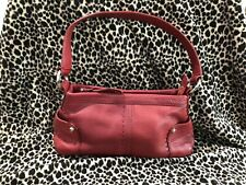 OROTON Leather Small Shoulder Bag Baguette Silver Hardware OR0711 *PERFECT COND*