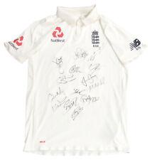 Signed Ben Stokes Shirt - Match Worn, England Cricket Jersey Rare +COA