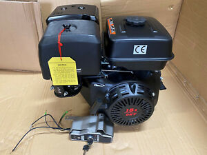 "15HP Petrol engine electric start  replaces Honda GX390  UK WARRANTY 1"" Shaft"