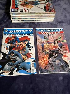 RUN LOT OF JUSTICE LEAGUE REBIRTH  1 - 43  (Complete Series) Great Condition Set