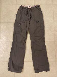 Koi Lindsey Cargo Scrub Pants Steel Sz XS Tall