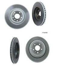 Set of 4 Genuine Benz Brake Rotors 2-Front & 2-Rear 350mm Dia front&Vented Rear