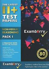 11+ Test Papers - Non-Verbal Reasoning Pack 1 by Examberry LLP (Pamphlet, 2013)