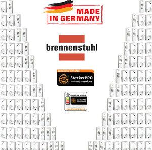 1 - 99 original Brennenstuhl 433Mhz Funksteckdose Fernbedienung RCS1000N comfort