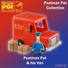 Postman Pat SDS Special Delivery Service Vehicles Pat's Classic Red Van & Figure