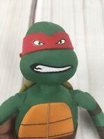 """RAPHAEL Teenage Mutant Ninja Turtle 14"""" Plush Stuffed Red mask TMNT"""