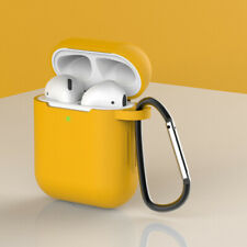 For AirPods Silicone Case Keychain Protective Cover Skin For AirPod Case Cover