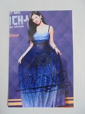 Suzy Bae Miss A 4x6 Photo Korean Actress KPOP auto signed USA Seller SALE Y8