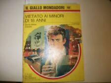 IL GIALLO MONDADORI 1132-DORIS MILES DISNEY-VIETATO AI MINORI DI 18 ANNI.OTTIMO!
