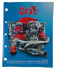 Scat VW Beetle T1 Race Parts Catalogue Collectable Catalog Rare T2 Bus Van Book
