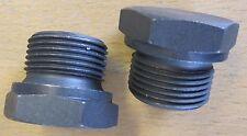 "Set of 2 Legris 3/4"" BSP Parallel Steel Plugs 0210 27 00"