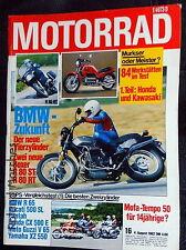 MOTORRAD 16-82+BMW+DUCATI 500+GUZZI V65+YAMAHA XZ+VESPA+HONDA CB/CBX+HERCULES CV
