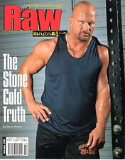 WWE MAGAZINE RAW FEBRUARY 2003 WRESTLING STACY KEIBLER POSTER STONE COLD COVER