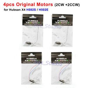 4pcs Original CW CCW Motors for Hubsan X4 H502S H502E RC Quadcopter Spare Parts