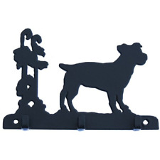 Jack Russell 3 Hook Key Rack