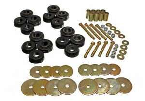 ENERGY SUSPENSION 66-77 Ford Bronco (Body Mounts&Hardware) 64pcs P/N - 4.4110G