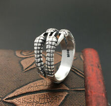 A15 Ring Drachenklaue Sterling Silber 925 größenverstellbar Drache