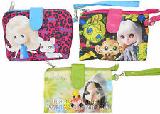 Littlest Pet Shop Blythe 'Rock and Roll' Wristlet Purse Carry Case Set of 3