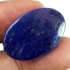 24.35 CARAT NATURAL EARTH MINED LAPIS LAZULI GEMSTONE OVAL CABOCHON AFGHANISTAN