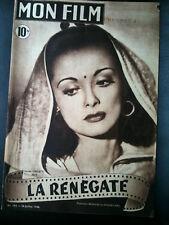 """Mon Film 28/07/48 """"La Renègate"""" Louise Carletti"""