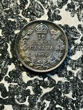 1906 Canada 10 Cent Lot#JM1733 Nice! Silver!