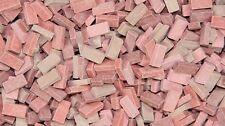 Échelle 1/72 briques (rf) rouge brique mixte shades 10000 pcs 00 jauge ferroviaire/train