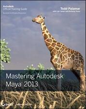 Mastering Autodesk Maya 2013, Good Books