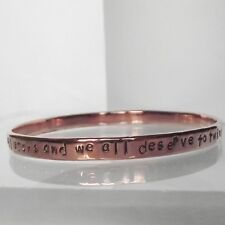 "Precioso Hecho A Mano Cobre personalizar inspiradores ""We Are All Stars..."" Brazalete"
