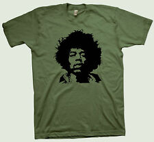 Jimi Hendrix T-Shirt Rory Gallagher Eric Clapton Peter Green SRV Rolling Stones