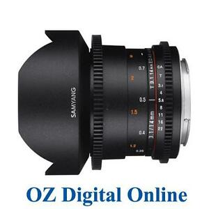 NewSamyang 14mm T3.1 ED AS IF UMC VDSLR MK II for Canon 1 Yr Au Wty
