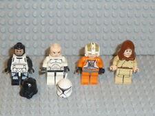 Lego ® Star Wars 4x personaje Clone Trooper Jedi 10188 75159 75192 9516 accesorios f169