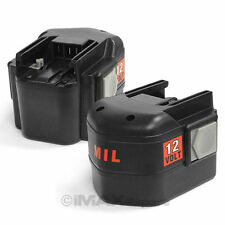 2 x 12V 3.0AH Ni-Mh Battery for AEG MILWAUKEE 48-11-1950 48-11-1960 48-11-1970