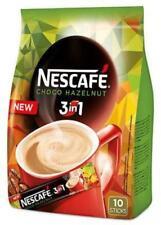 NESCAFE Choco Hazelnut 3in1 Instant Coffee 10 Sticks Bag 160g 5.6oz