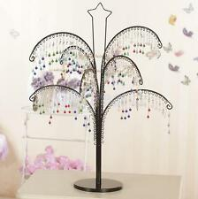 Jewelry Display Tree Stand Earring Ring Necklace Holder Organizer 146 holes