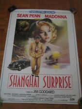 MADONNA SHANGHAI SURPRISE 1986 CINEMA POSTER ITALY 100x70 NEW MINT