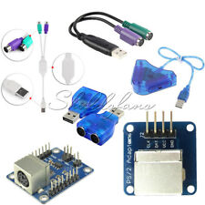 Dual PSX/PS1/PS2 Female to USB Male Converter Adapter Keypad Driver Arduino