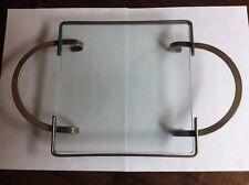 trivet Glass And Silverplate Hot Pot Carrier