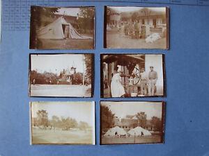 Sighetu Marmației Sziget WW1 6 x original Foto Lazarett Hauptquartier um 1915