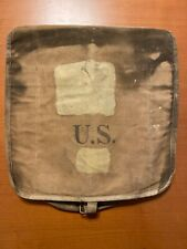 Antique M-1903 U.S. Army Canvas Haversack With Condiment Bag Rock Island Arsenal
