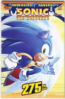 Sonic The Hedgehog 275 A Archie 2015 NM Worlds Unite 11 Mega Man