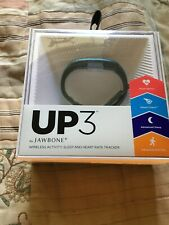 Jawbone UP3 Smart (Teal)) Fitness Tracking Wristband Activity Tracker NEW